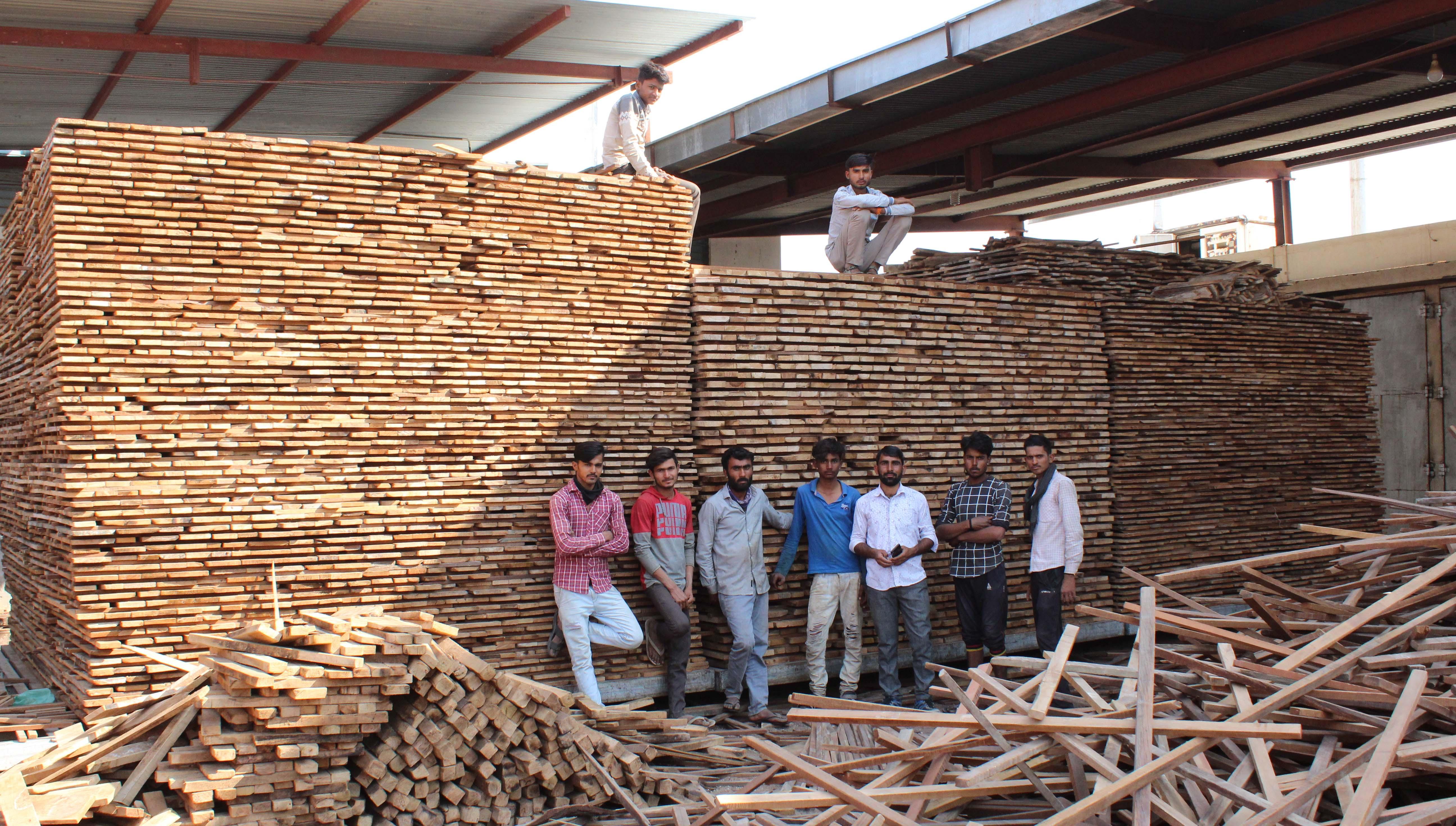 LeelaExpo Wood Ready For Seasoning
